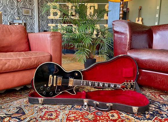SOLD! - 1979 Gibson 25/50 Anniversary Les Paul Custom Black