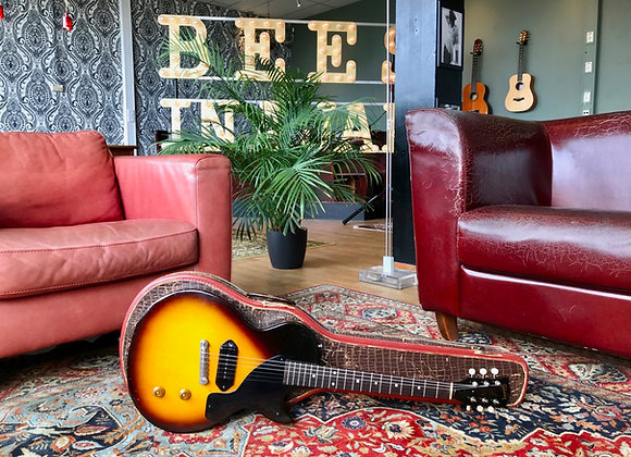 SOLD! - 1957 Gibson Les Paul Junior Sunburst 3/4 single cut