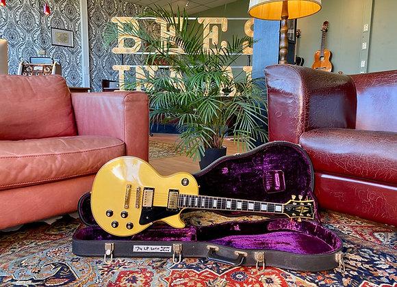 SOLD! - 1974 Gibson 20th Anniversary Les Paul Custom Alpine White Randy Rhoads