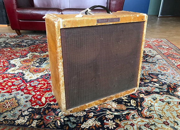 SOLD! - 1960 Fender 5F6-A Tweed Bassman 4x10 Narrow Panel Amp
