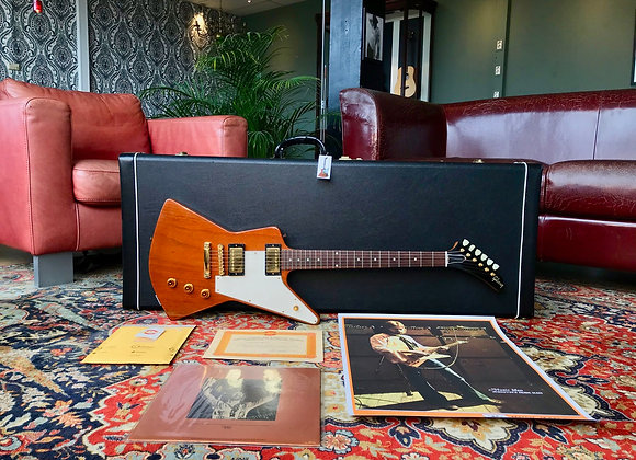 SOLD! - 2001 Gibson USA Eric Clapton 1958 Explorer Custom Art & Historic Div.