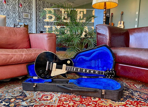 SOLD! - 1978 Gibson Les Paul Pro Deluxe Black P90
