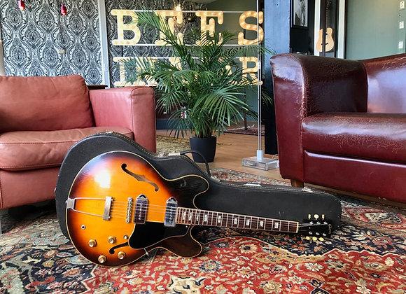 SOLD! - 1967 Gibson ES-330TD Tobacco Burst Thinline Dual P90 pickup