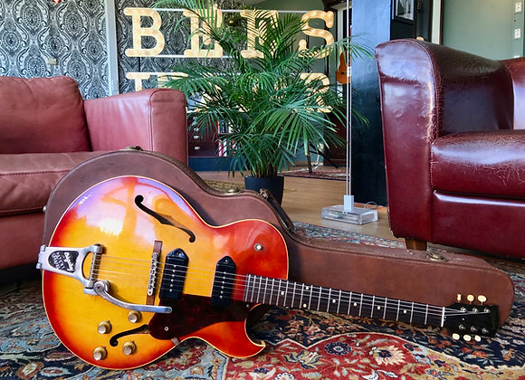 SOLD! - 1963 Gibson ES-125 TDC Sunburst Archtop 2 x P90 factory Bigsby