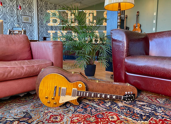 SOLD! - 2015 Ace Frehley Aged & Signed Gibson Les Paul 1959 True Historic