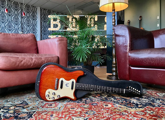 SOLD! - 1965 2.4Kg ultra lightweight Epiphone Olympic Double Cherry Stoptail
