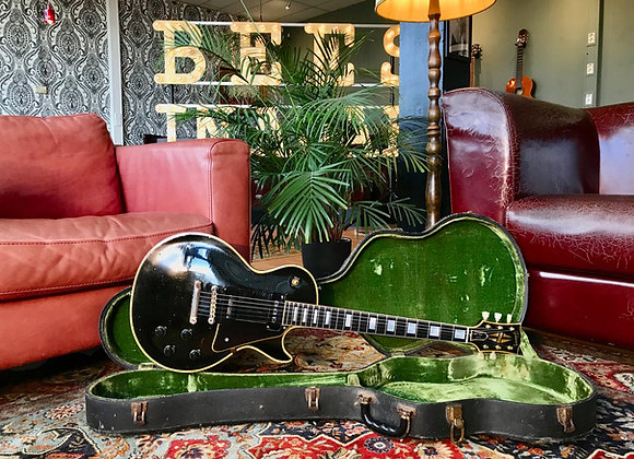 "SOLD! - 1957 Gibson Les Paul Custom ""Black Beauty"" Alnico-V / P90"
