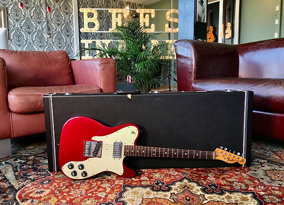 SOLD! - 1973 Fender Telecaster Custom CAR Candy Apple Red REFIN