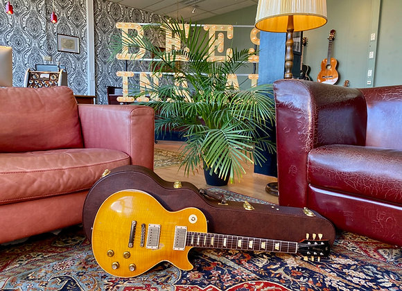 """SOLD! - 2021 Aged Panucci '59 Les Paul Inspired Series - """"Greeny"""""""