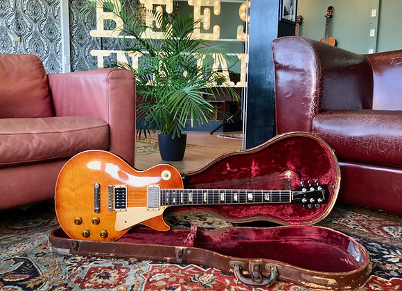 SOLD! - 1953 Gibson Les Paul Conversion to 1959 Jimmy Page No.1 Burst Sunburst
