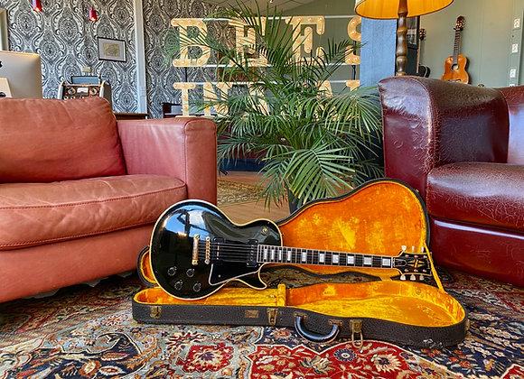 "SOLD! - 1955 Gibson Les Paul Custom ""Black Beauty"" Alnico-V / P90"