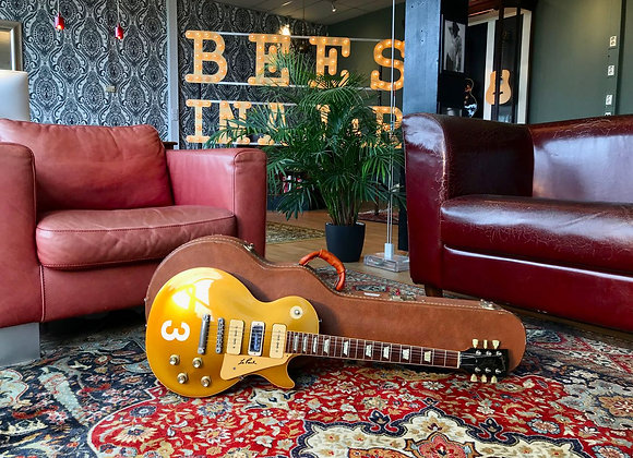 SOLD! - Rare 1988 Gibson Les Paul signed '56 GoldTop Pro Showcase Edition 1956