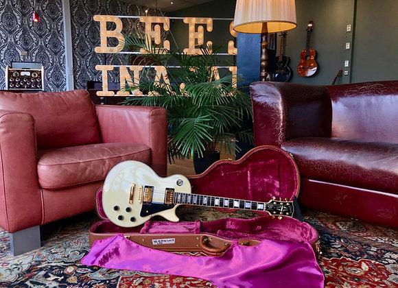 SOLD! - 1996 Gibson Les Paul Custom Alpine White