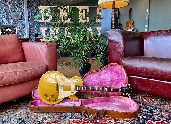 SOLD! - 1954 Gibson Les Paul Gold Top Wraparound Goldtop