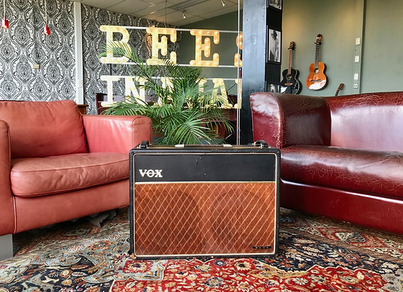 1962 - 1963 JMI VOX AC30 Bass 2x12 Red Copper Panel Celestion T530 Blue Alnico