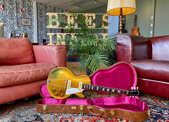 SOLD! - 1952 Gibson Les Paul Goldtop w/ Trapeze Tailpiece - REFIN