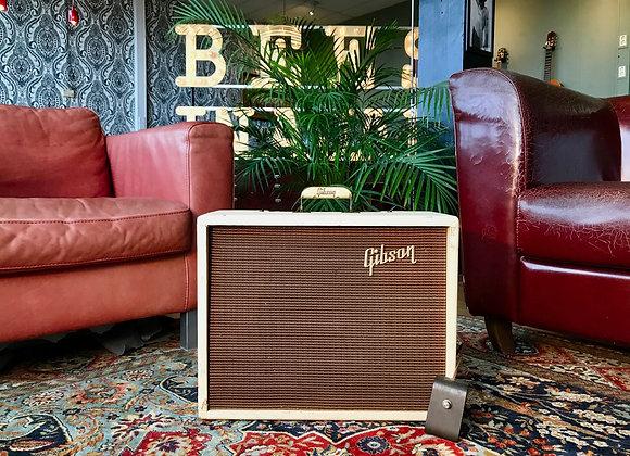 "SOLD! - 1961 Gibson GA-8T Gibsonette Tremolo 12"" Jensen Two-Tone Combo"