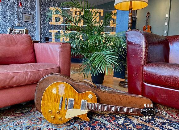 SOLD! - 2017 Gibson True Historic '59 Les Paul Tom Murphy Aged Honey Burst