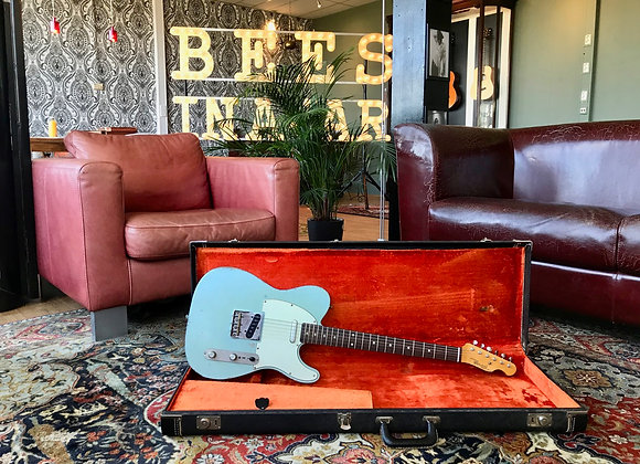 SOLD! - 2019 Panucci Aged Sonic Blue Aged Swamp Ash Telecaster