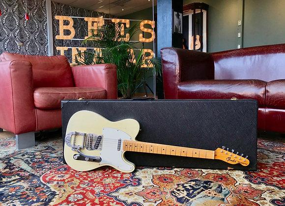 SOLD! - 1973 Fender Telecaster Blonde Bigsby Maple neck