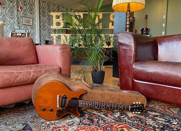 SOLD! - 1960 Gibson Les Paul Junior Cherry DC Double Cut
