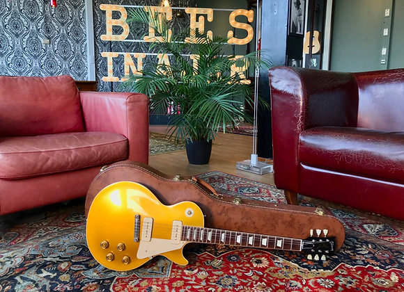 SOLD! - 2015 Gibson Les Paul '54 R4 Goldtop Custom Historic LPR4 VOS