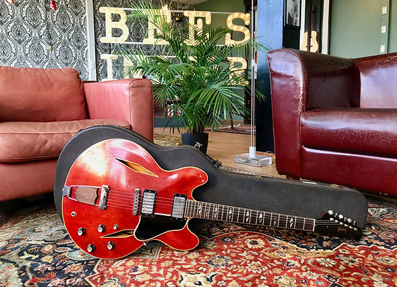 SOLD! - 1965 Gibson Trini Lopez Standard Cherry Red
