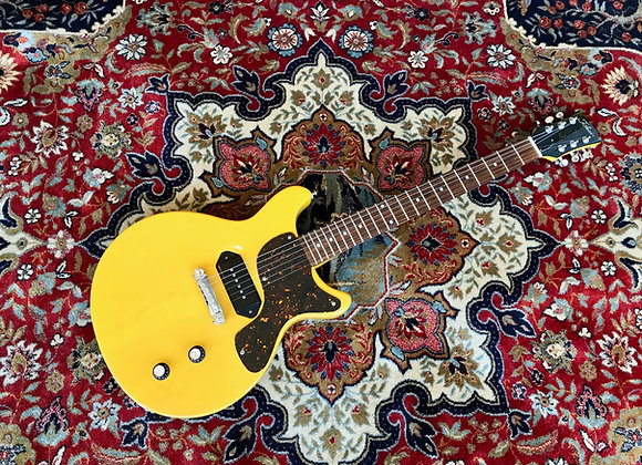 SOLD! - Tokai Love Rock Double Cut Les Paul Junior TV Yellow