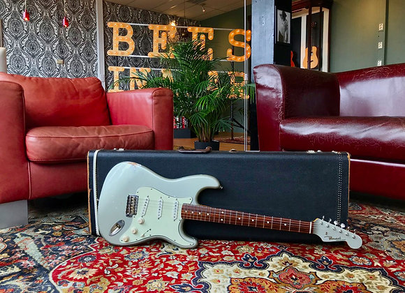 SOLD! - 2011 Panucci hand built & aged Inca Silver Strat w/ matching headstock