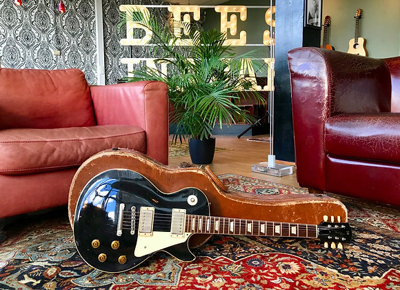 SOLD! - 2016 Panucci Aged '59 Les Paul Inspired Series - Black Burst