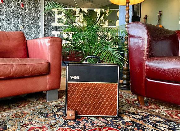 SOLD! - 1962 JMI VOX AC4 smooth vinyl tolex & metal vents