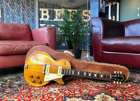SOLD! - 1953 Gibson Les Paul All Gold Goldtop