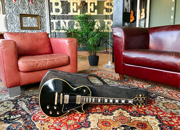 SOLD! - 1977 Gibson Les Paul Custom Black Beauty