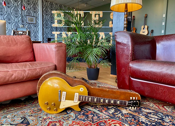 SOLD! - 1955 Gibson Les Paul Standard All Gold Goldtop w/ original wraparound