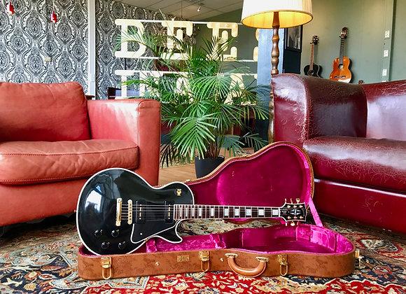 2014 Gibson Les Paul Custom P90 VOS Ebony 1 of 25
