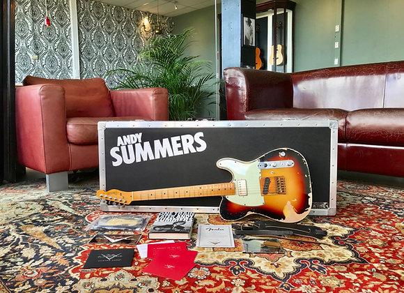 SOLD! - 2007 John Cruz Masterbuilt Fender Andy Summers Telecaster