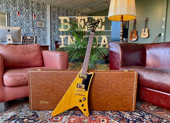 1980-1982 Gibson Moderne '58 Korina Heritage reissue A serial