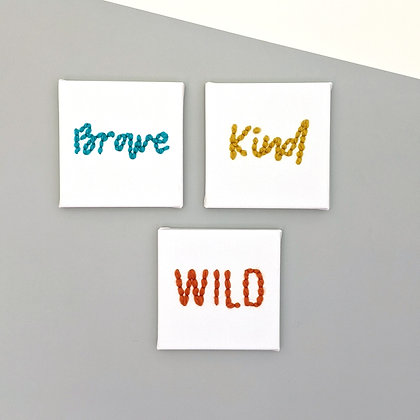 POWER WORDS Mini canvas