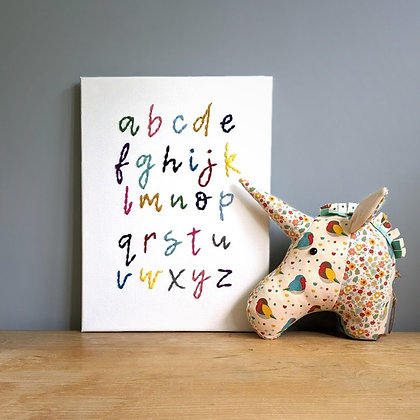 A to Z canvas