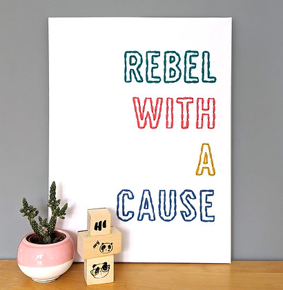 REBEL canvas