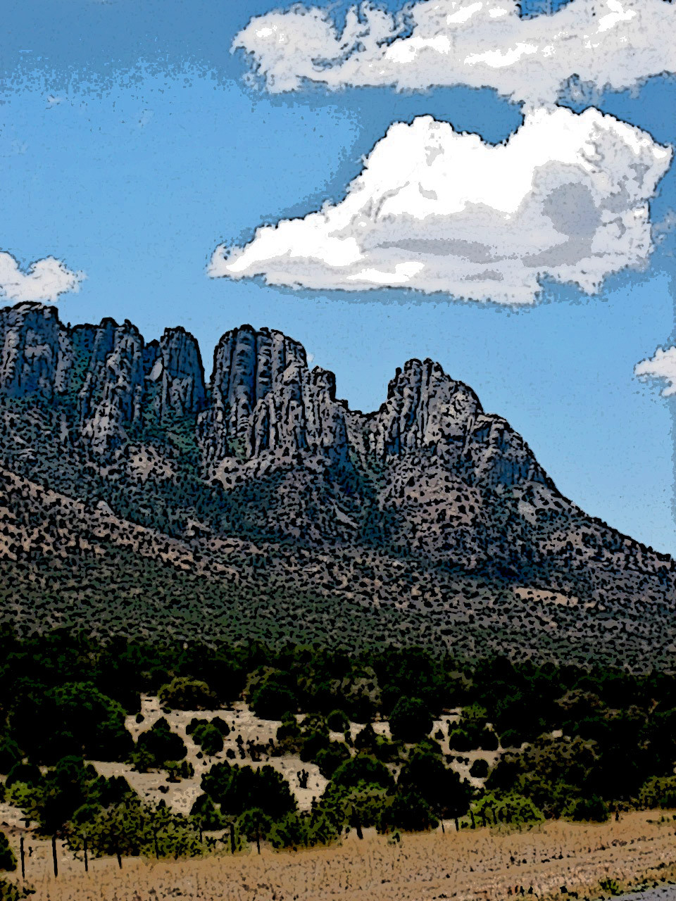 Davis Mountains in Far West Texas / Photo: Dan Hubig©2020
