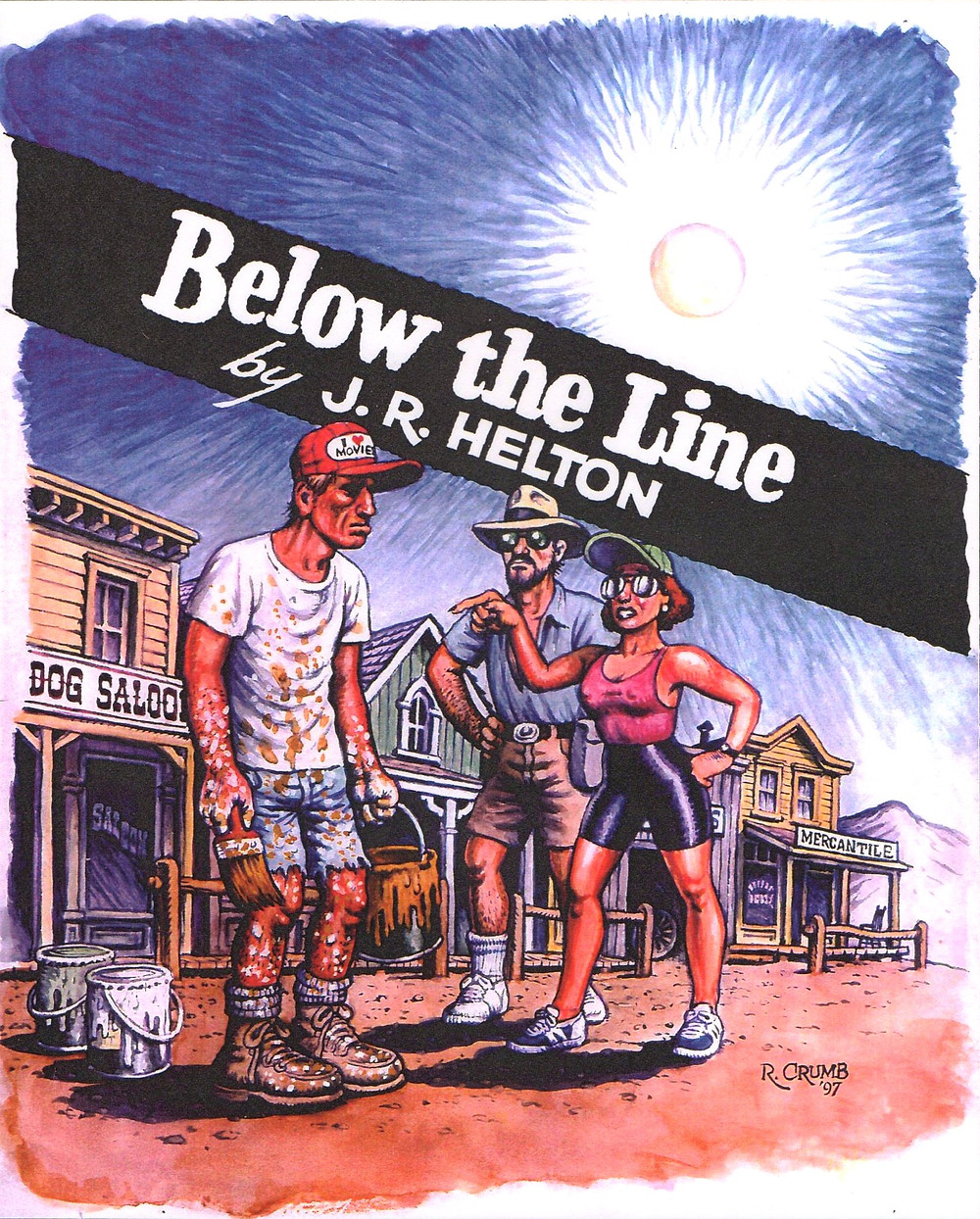 Below the Line book cover / Robert Crumb © 2020