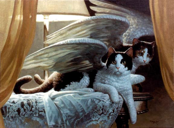 11. No Birds Woiuld Sing If Cats had Wings