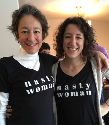 Shelly Gehshan and her daughter Hannah Marqusee