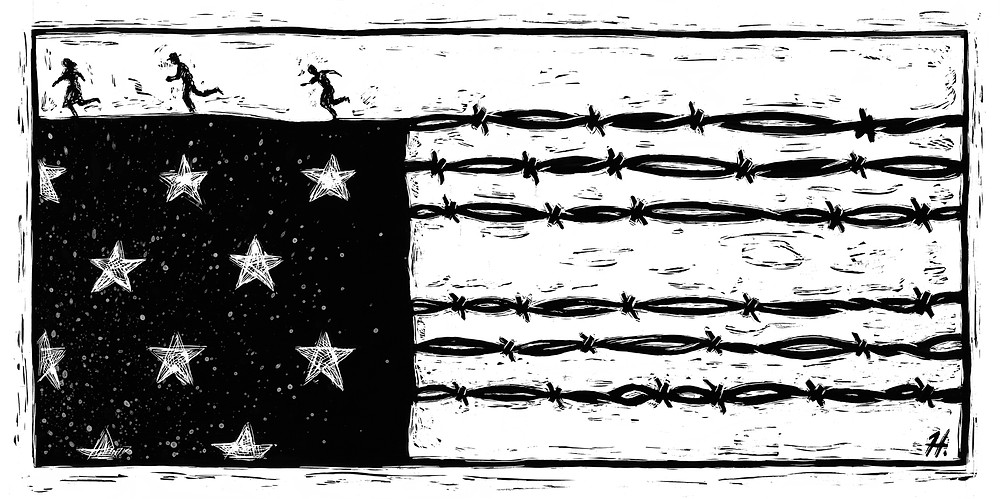 The Border, 1977,  Newspaper Syndication