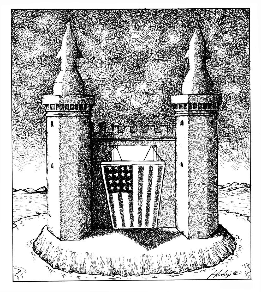 Fortress America Dan Hubig @ 1982