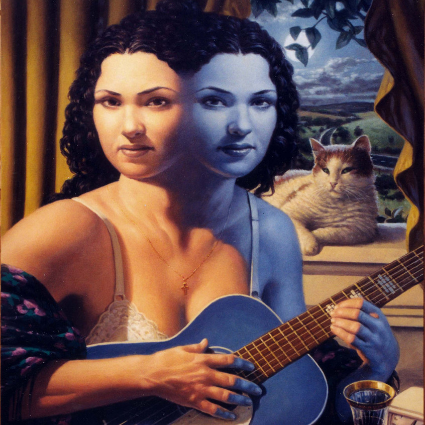 12. Woman with a Blue Guitar