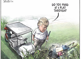 Outside Sources / Canadian Cartoonist Loses His Job After Trump Drawing Goes Viral