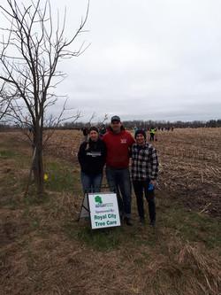 Rotary Tree Planting