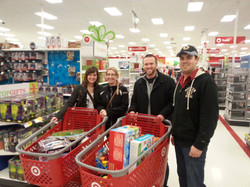 Toys for the community at Christmas